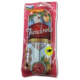 DeliBest Fleischrolle Rind mit Hirse - 2x400g