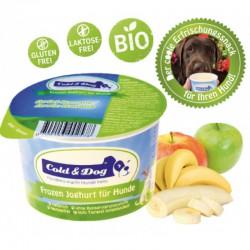 Cold & Dog Frozen Joghurt Banane-Apfel BIO - 90ml