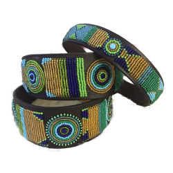 PEACOCK Massai Halsband