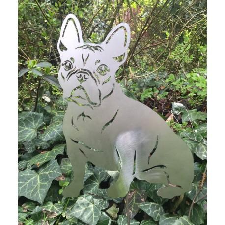 Gartenfigur Französische Bulldogge - 40cm