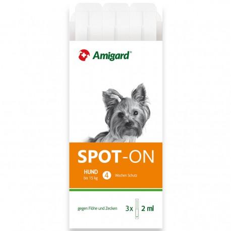 Amigard Spot-on für kleine Hunde -  3 Pipetten