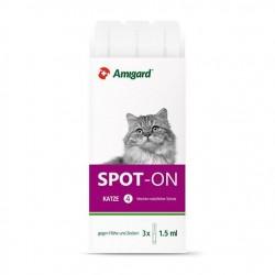 Amigard Spot-on für Katzen -  3 Pipetten