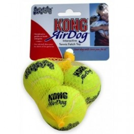 Kong Tennisbälle AirDog mit Squeaker - Small
