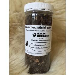 Rinderherz Würfeli extra klein - 450g
